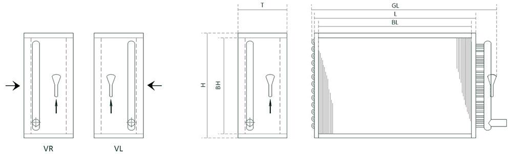 Габаритные размеры и технические характеристики фреонового охладителя воздуха