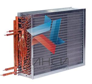 Фреоновый охладитель испаритель, для охлаждения воздуха
